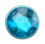 Swappable Disco Crystal Blue, PopSockets