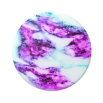 Swappable Magenta Glow Marble, PopSockets