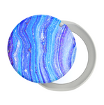 Swappable PopMirror Baja Tide Agate, PopSockets