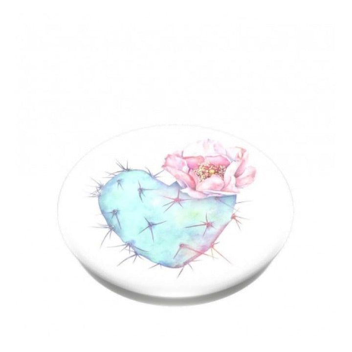 Swappable Succulent Heart, PopSockets