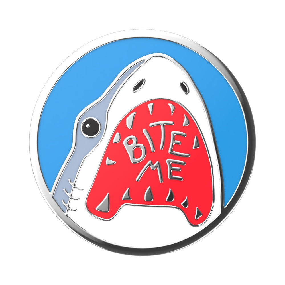 Swappable Enamel Shark Bites, PopSockets