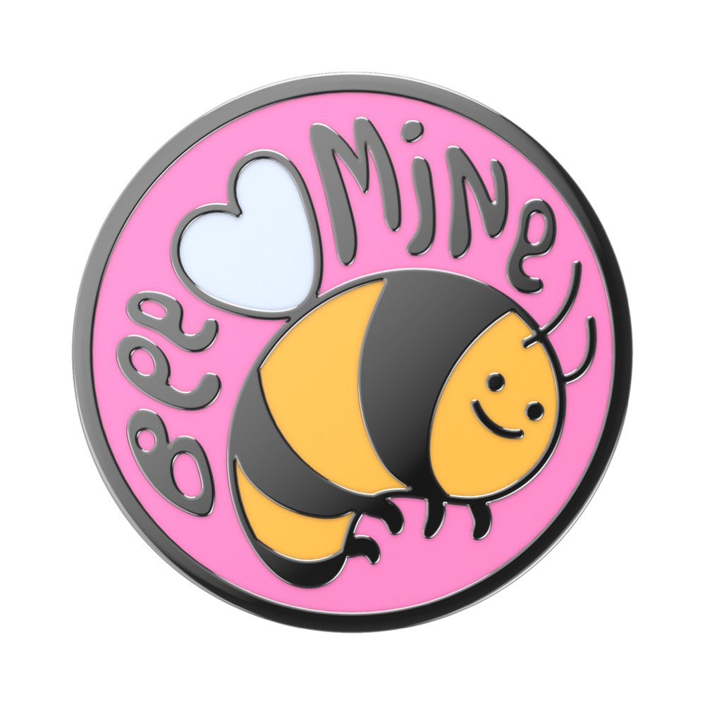 Swappable Enamel Bee Mine, PopSockets