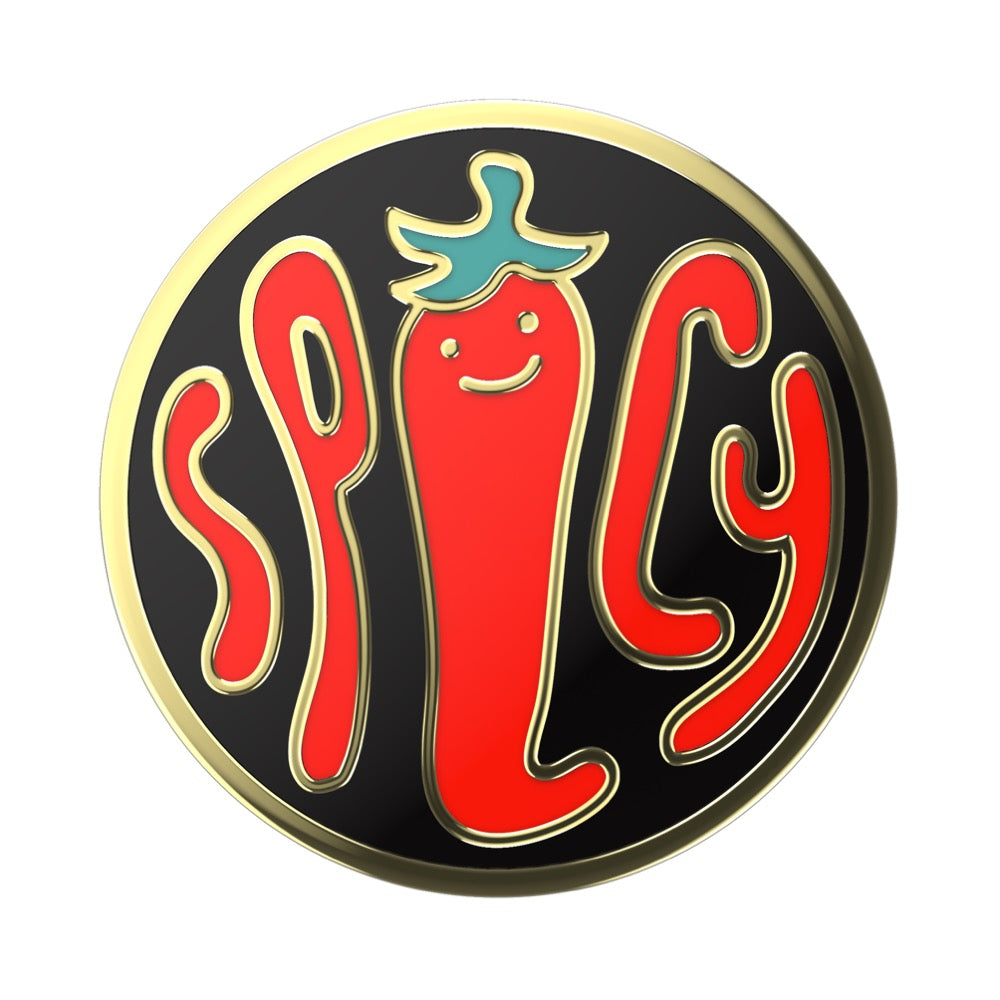 Swappable Enamel Spicy Black, PopSockets