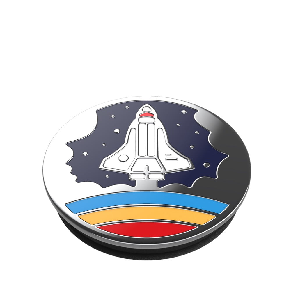 Swappable Enamel Space Shuttle Navy