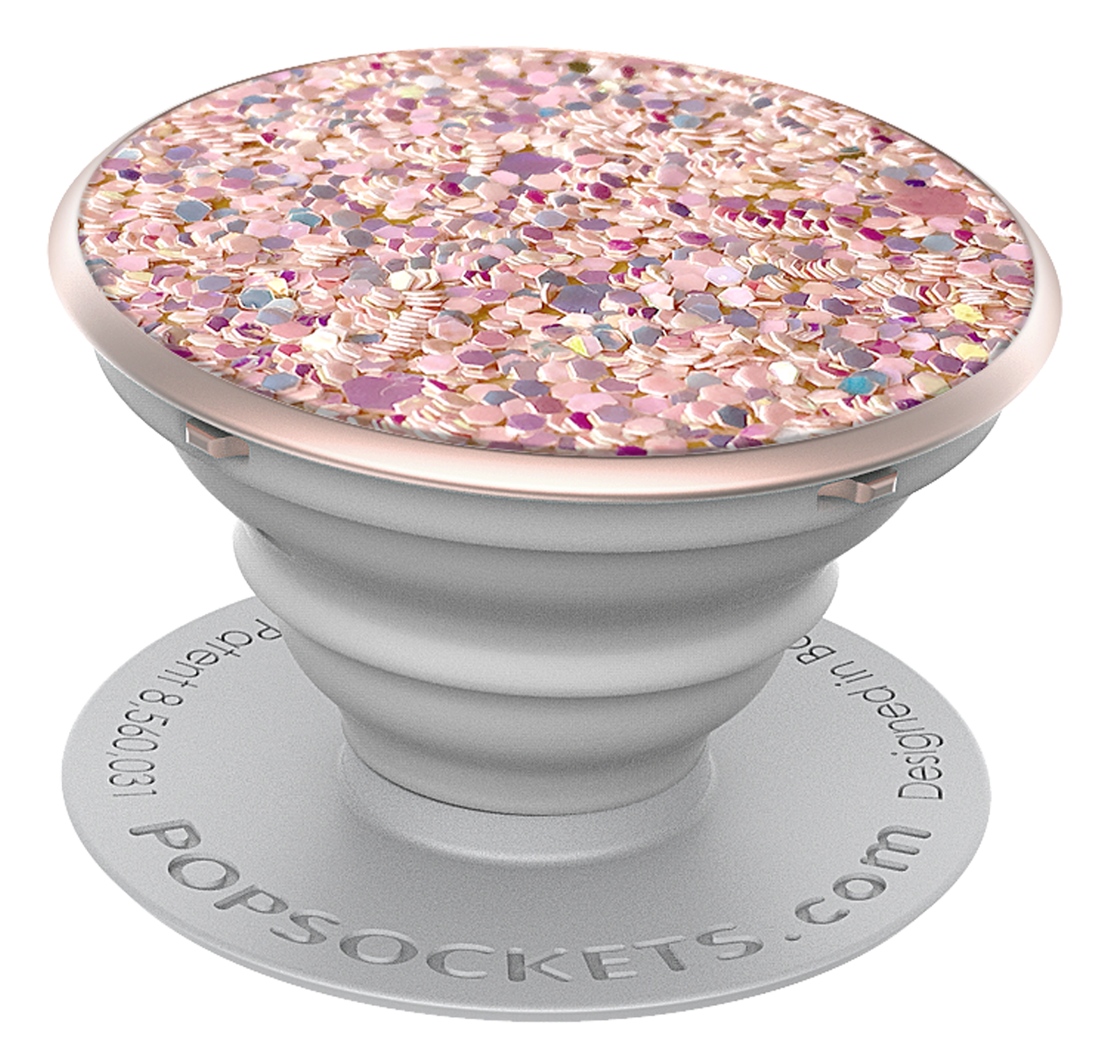 PopSockets Grip Sparkle Rose, PopSockets