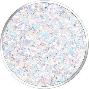 PopSockets Grip Sparkle Snow White, PopSockets