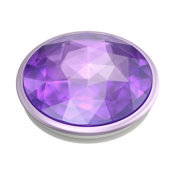 Swappable Disco Crystal Orchid, PopSockets
