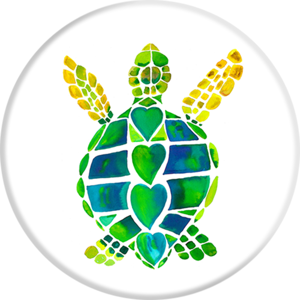 PopSockets Grip Turtle Love, PopSockets