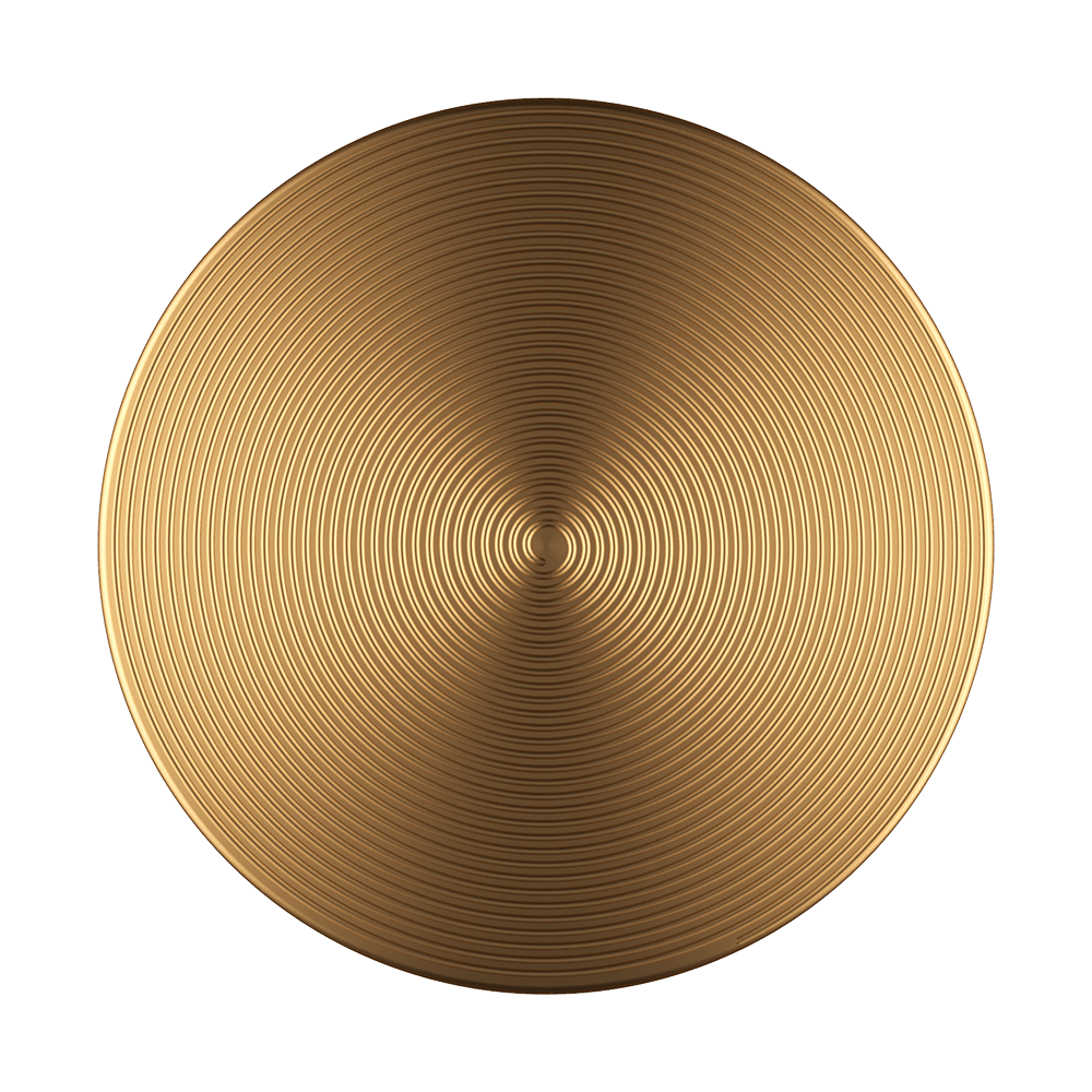Swappable Twist Aura Gold Aluminum, PopSockets