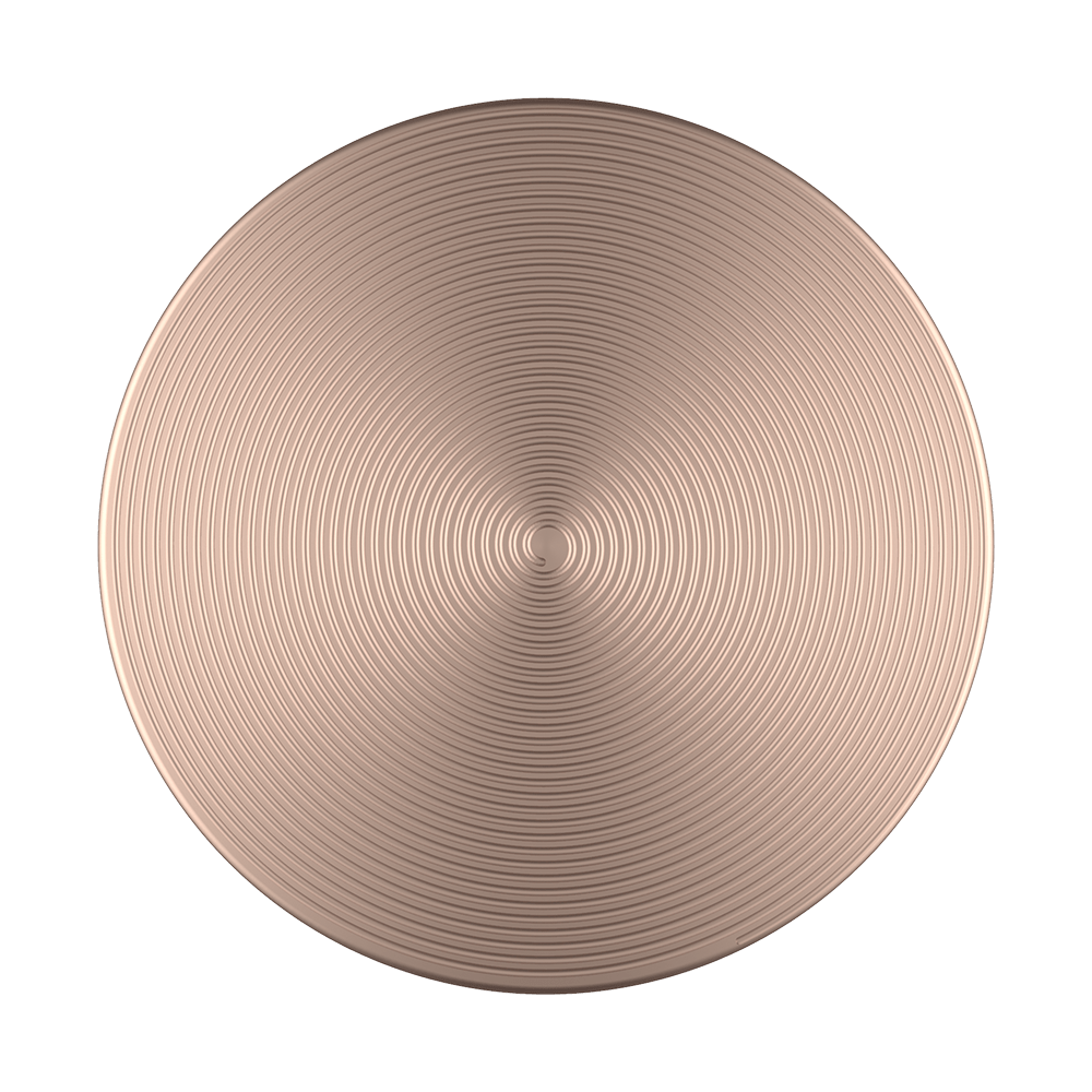 Swappable Twist Rose Gold Aluminum, PopSockets