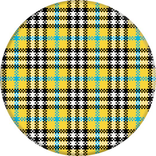 PopSockets Grip Yellow Tartan, PopSockets
