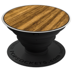 PopSockets Grip Classic Zebrawood (Made From Real Wood), PopSockets