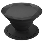 PopSockets Grip Diamond Metallic Black, PopSockets