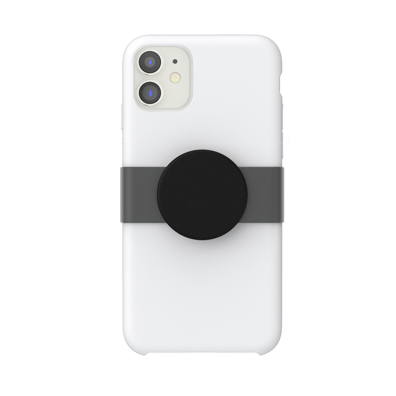 PopGrip Slide iPhone 11 Black Haze, PopSockets