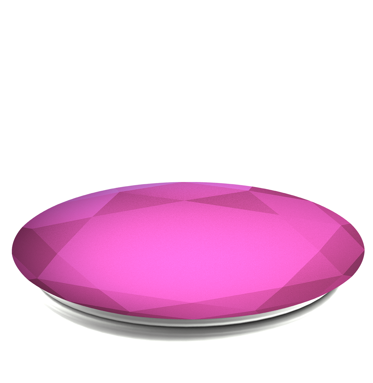 PopSockets Grip Diamond Metallic Fuchsia