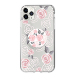 Gosh + Pop Hybrid iPhone 11 Pro Max Case Rosy Loves, PopSockets