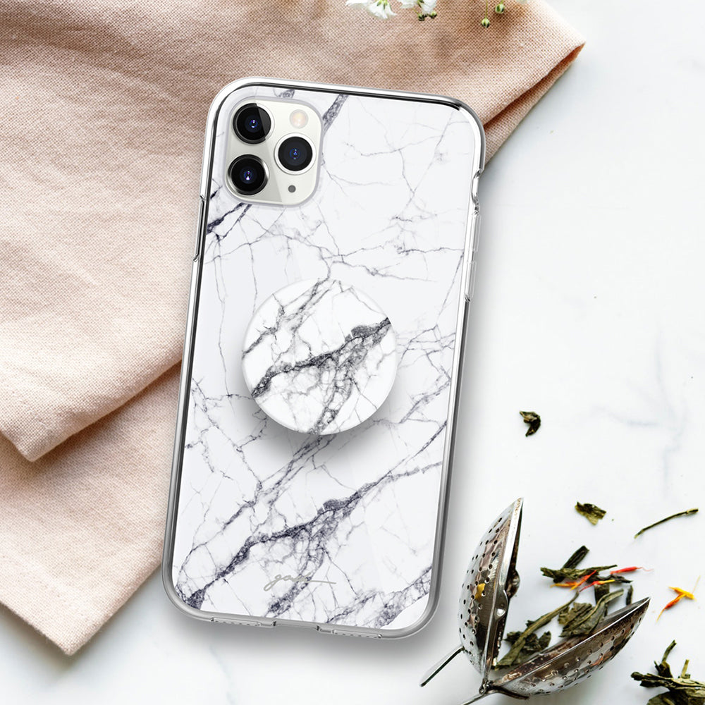 Gosh + Pop Hybrid iPhone 11 Pro Max Case White Horse
