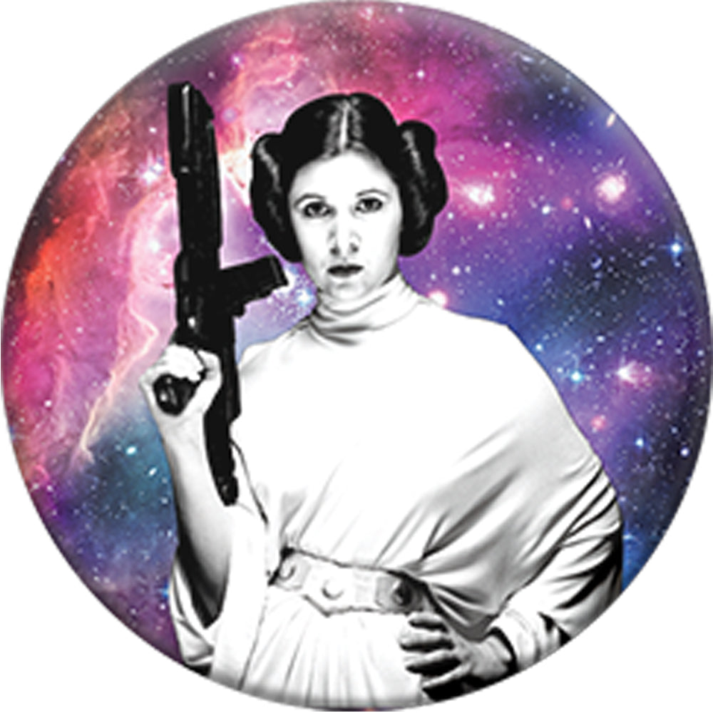 PopSockets Grip Star Wars Leia Galaxy, PopSockets