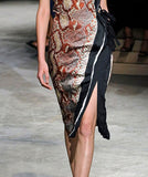 PRADA SS2009 Wrap Around Skirt