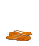 MASAKÏ MATSUSHÏMA Leather Fur Flip Flops 38