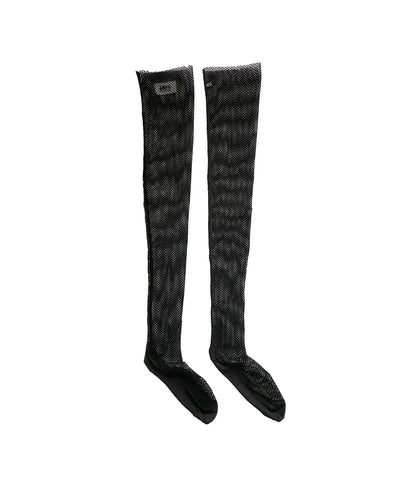 MM5 MAISON MARGIELA Velvet Fishnet Socks