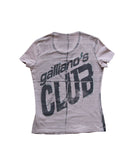 GALLIANO Pink Galliano's Club Tee M