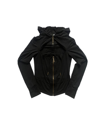 DIRK BIKKEMBERGS (Antwerp Six) Hooded Top S