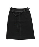 COURREGES Logo Skirt S/M