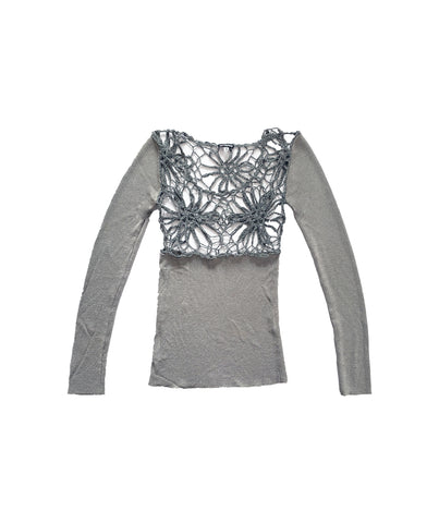 GIANFRANCO FERRÉ Flower Net Top S