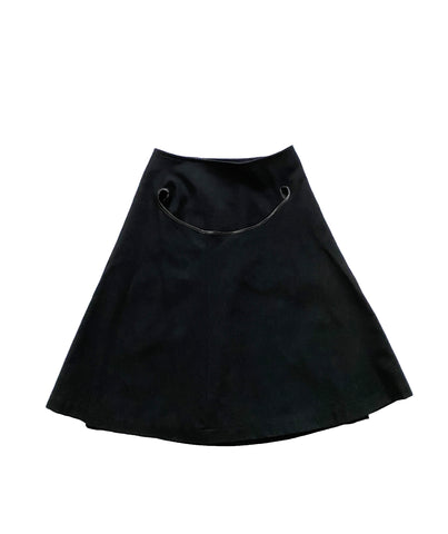COMME DES GARCONS Tricot 1995 Double Layer Wool Skirt S