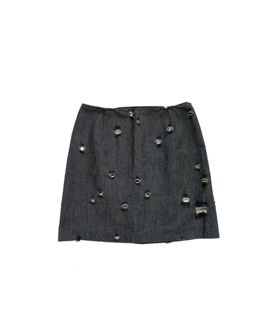 MIU MIU FW2001 Denim Skirt S