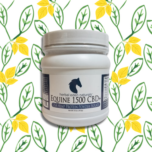 Equine Hemp Protein Powder 1500MG