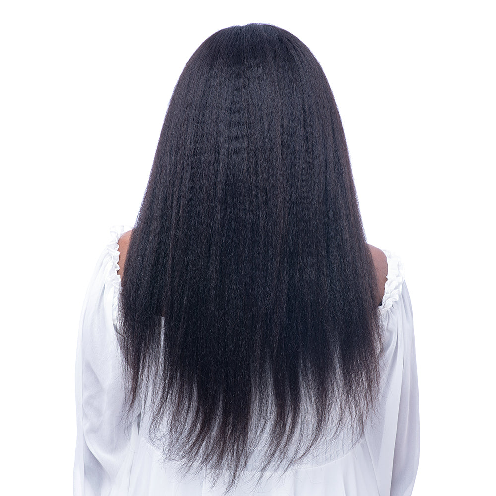 Silk Top  Full Lace Human Hair wigs Brazilian Virgin Hair Italian Yaki  130% Density