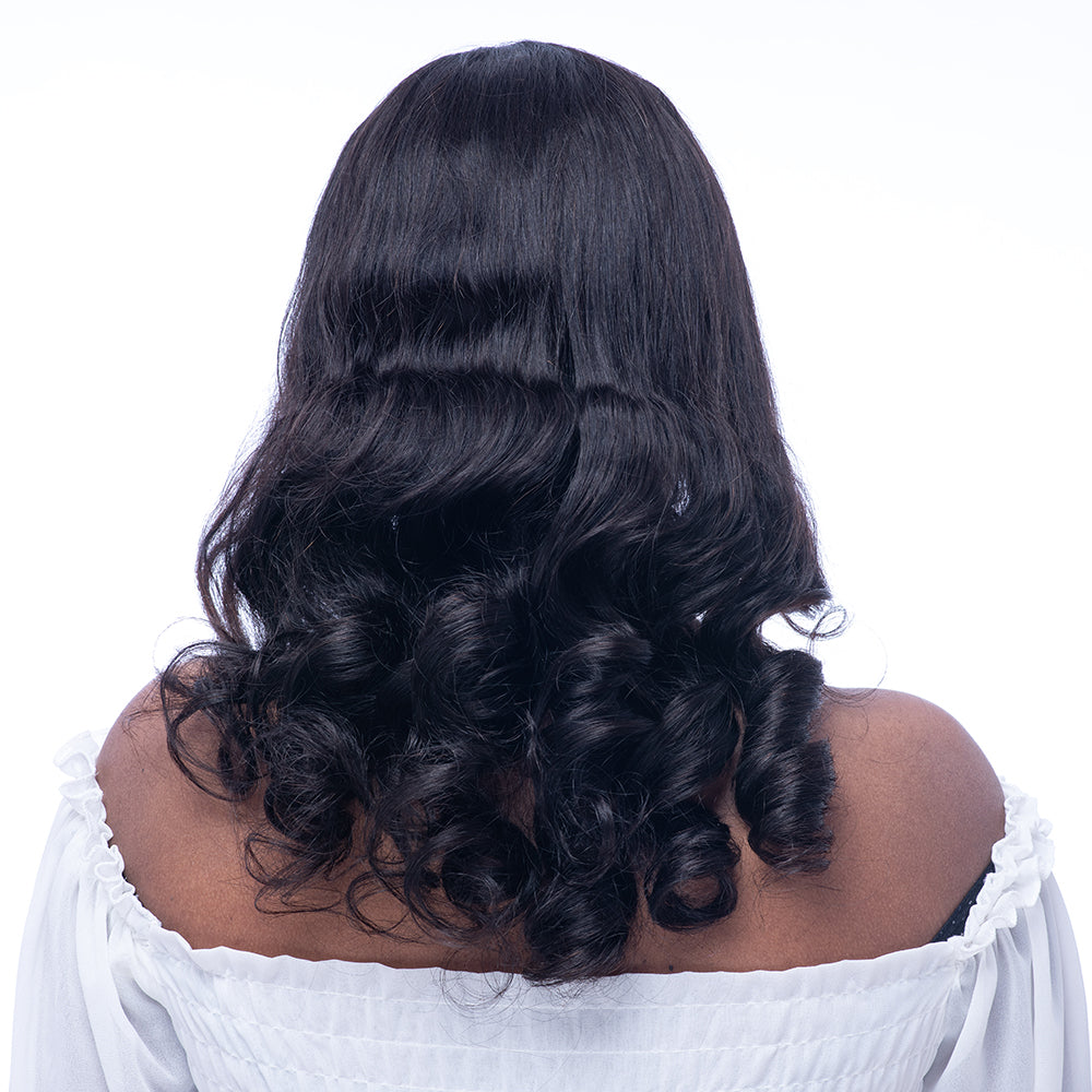 Preplucked  360 Lace Frontal Loose Wave Human Hair Wigs Glueless 180% Density