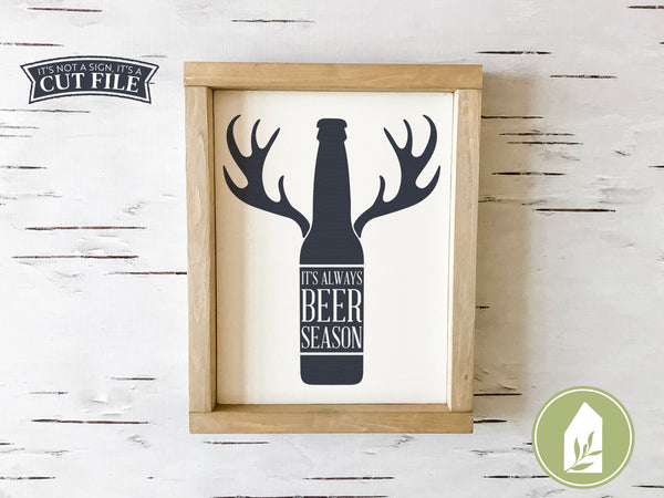 Beer Season SVG, Father's Day Cutting Files