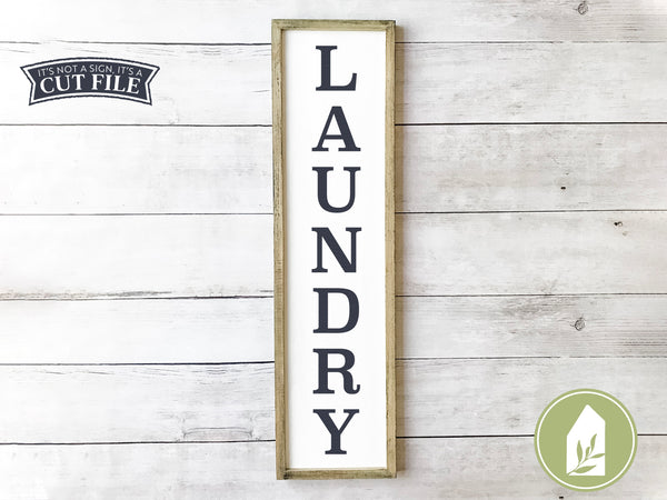 Vertical Laundry SVG Files, Farmhouse Cutting Files