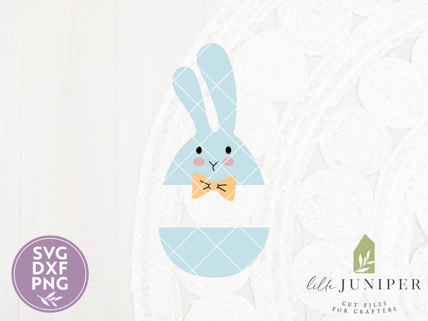 Easter Egg Bunny SVG Files, Boys Cutting Files