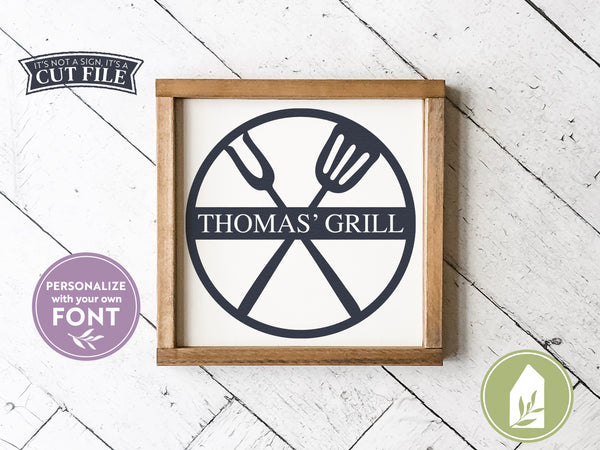 Grilling SVG Files, Father's Day SVG