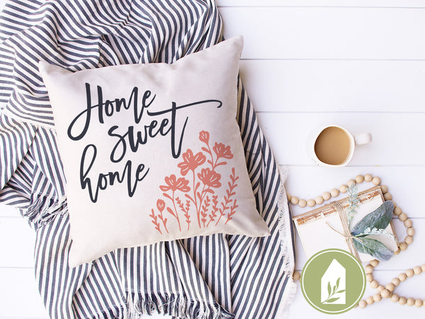 Home Sweet Home Botanical SVG Files