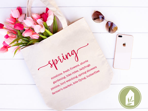 Signs of Spring SVG Files, Farmhouse Cut Files