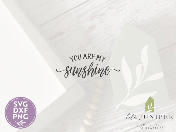 You Are My Sunshine SVG Files, Nursery Cut Files