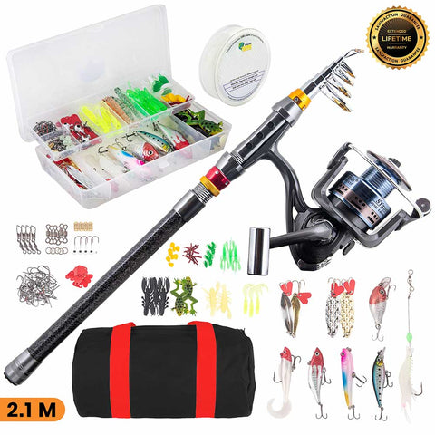 Fishing Poles For Kids with Fishing Tackle   Telescopic Fishing Rod, Your Complete Fishing Rod and Reel Combo