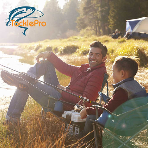 Heavy-Duty Telescopic Fishing Rod Using advanced carbon material, our collapsible fishing rod is exceptionally durable and wear-resistant in addition to being incredibly comfortable with a non-slip handle. An anti-slip ring keeps your pole in place at the top. The reel side is cradled by a sturdy aluminum alloy with stainless steel guide rings to prevent rust and help you bring proof