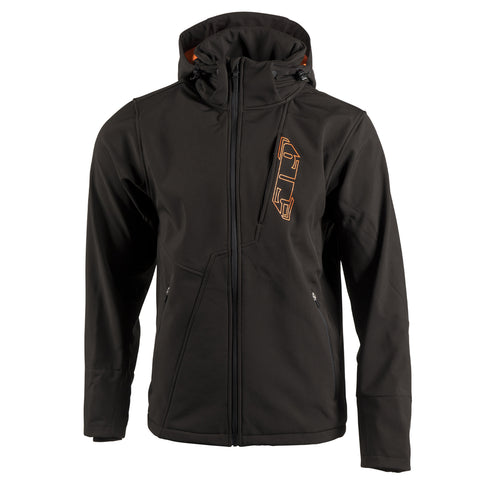 509 Black Fire Tactical Softshell Jacket - Wide Open Parts