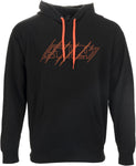 509 Black Fire Pullover Hoodie - Wide Open Parts