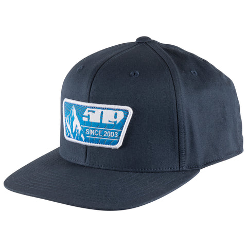 509 Blue Prints Flexfit 110 Snapback Hat - Wide Open Parts