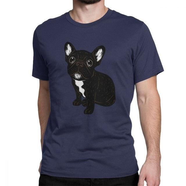 French Bulldog T Shirt Cotton