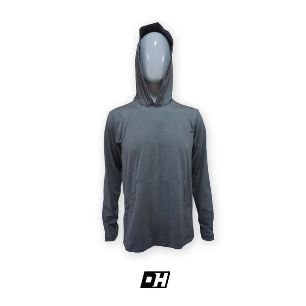 Acid Light Gray Sun Hoodie