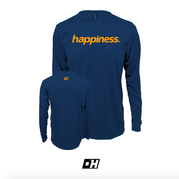 Navy Blue Happiness Long Sleeves