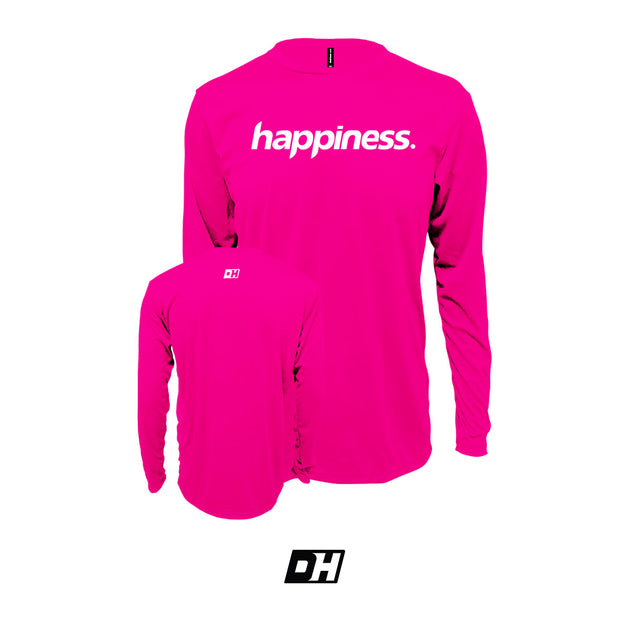 Pink Happiness Long Sleeves